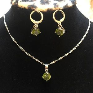 Necklace and earrings NWOT